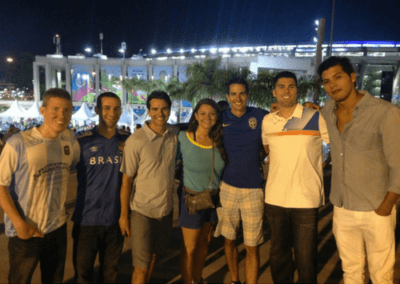 Brazil 2014. An unforgettable trip to see the World Cup.