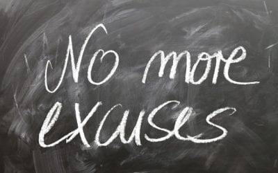 3 Common Excuses to Drop from Your Vocabulary